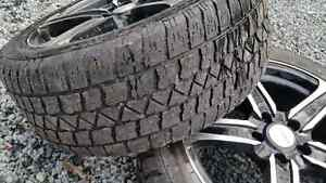 """17"""" BSW rims with winter tires"""
