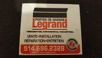Portes de garage Legrand