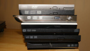 Quantity of laptop optical drives (DVD)