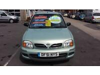 2002 NISSAN MICRA 1.0 S Automatic 3 Door From GBP2,195 + Retail Package