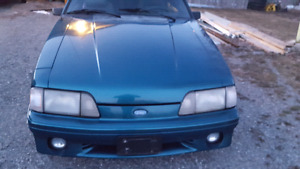 1987 Ford Mustang GT with T-Top