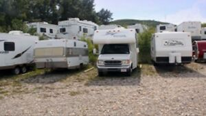 RV and camper winter storage $100 for six months