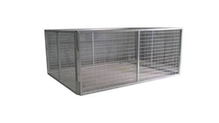 600MM HIGH GALVANISED TRAILER CAGE FOR 7X5 TRAILER - BEST DEAL
