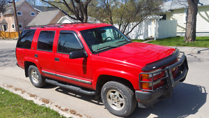 2000 Chevy Tahoe 4×4