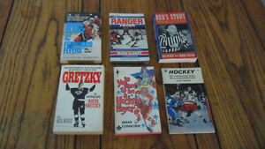 Vintage hockey books