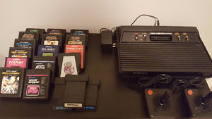 Atari 2600 Game System with 18 Games - In Working Condition!
