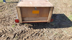 """Nice little  Trailer 51""""L x 41"""" W x """"19  tires and frame mint co"""