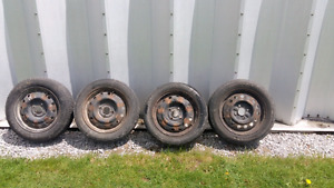 4x114.3 Rims with tires