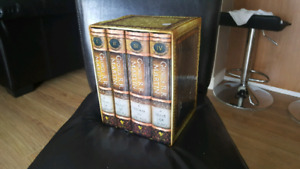 A game of thrones. Vol 1-4 hard cover box set