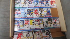 1990 Score extended NHL cards, with rookies