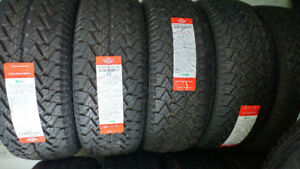 New 235/60R17 all season tires, $450 for 4