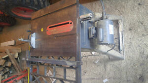 Table saw , cast hiron