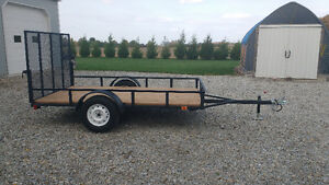 10 by 5 1/2 utility trailer