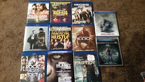 For Sale - New and used Blu-ray and DVDs lot or singles