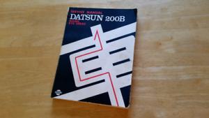 Datsun manual gumtree australia free local classifieds datsun 200b repair manual fandeluxe Images