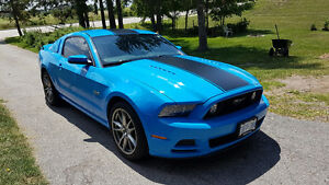 2014 FORD MUSTANG GT PREMIUM. MANUAL, LOADED,TRACK PACK, BREMBO