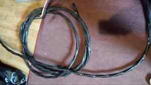 2 X fils électrique cuivre 3/6 nmwu pour spa electrical wire