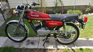 Kawasaki Motorcycle KH100 EL