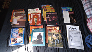 Various Guitar Music Books