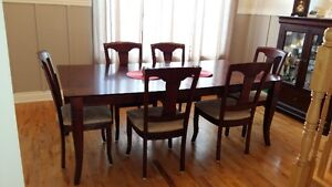 Dining Set - Table plus 6 chairs - Moving Sale