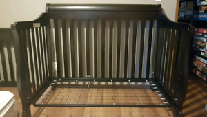 Solid wood 3 in 1 crib