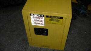flammable safety cabinet, (bench top or wall mount)