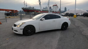 2005 Infiniti G35 Coupe - New Baby & Moving Provinces