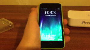 Green mint condition iPhone 5c