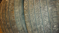 4 all season Michelin tires 235/70R16. 80%left. $200 for 4 tires