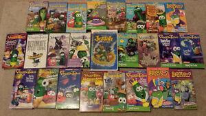 Classic VeggieTales VHS movies!