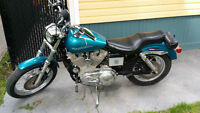 For Sale one  1994 Harley Davidson XLH883D Deluxe Motorcycle'