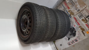 4 Steel Rims - great for winter tires. $100  OBO