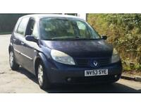 Renault Scenic 1.6 VVT MPV 115 Expression, 5dr Estate Car, Long Mot, Runs Nice,