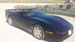 CONVERTIBLE CORVETTE JUST IN TIME FOR SUMMER
