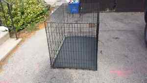 Extra large dog crate 30x48 inch dog crate.