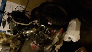 Cr250 project over $3000 in new parts alone