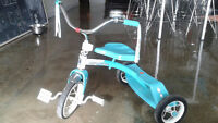 Classic Turquoise Tricycle