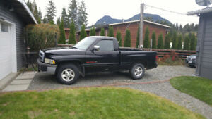 1996 Dodge Power Ram 1500 SLT Laramie Pickup Truck Short Box