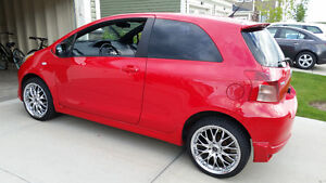 2008 Toyota Yaris RS-HB wremote start,wintertirerims