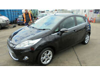 FORD FIESTA 1.4 ZETEC AUTO DAMAGED REPAIRABLE SALVAGE