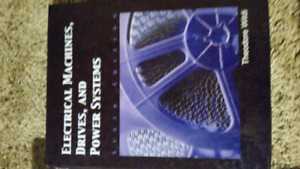 Electrical machines,drives,and power systems textbook