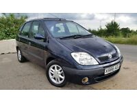 Renault scenic automatic new mot HPI clear