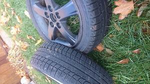 Snow Tires w Rims 195/55R16 Kitchener / Waterloo Kitchener Area image 3