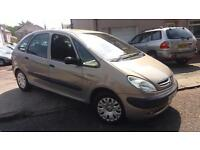 2002 52 CITROEN XSARA PICASSO 1.6i SX.RECENT TIMING BELT,NEW TYRES AND MORE.LOOK