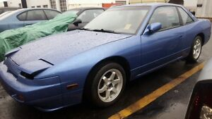 1989 nissan 240sx $ 12000 obo willing to trade