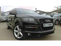 2008 AUDI Q7 TDI QUATTRO S LINE FINISHED IN NIGHT BLACK 09 MODEL YEAR T
