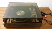 Vintage Turntable made in germany dual 601 - Tournedisque -