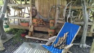 RUSTIC AND NATURAL FRESHWATER DRIFTWOOD PIECES