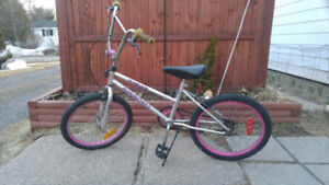 20in bicycle, BMX style,