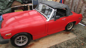 75 MG Midget project for trade or sale